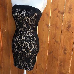 Caché lace bodycon mini dress Sz.4